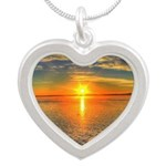 Beautiful Sunset Scenic View Photography Silver He