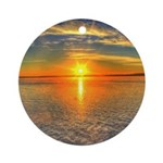 Beautiful Sunset Scenic View Photography Ornament