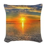 Beautiful Sunset Scenic View Photography Woven Thr