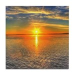 Beautiful Sunset Scenic View Photography Tile Coas