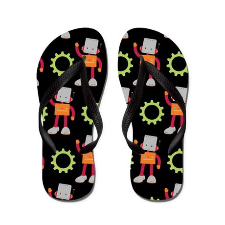 Robot Gear Flip Flops