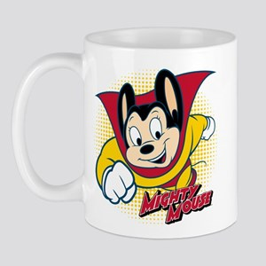 Mighty Mouse Halftone 2 Mug