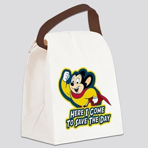 Mighty Mouse Save The Day Canvas Lunch Bag