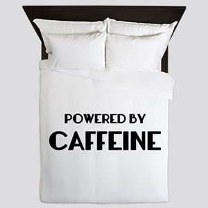 Powered By Coffee Queen Duvet