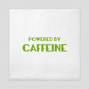Powered By Caffeine Queen Duvet