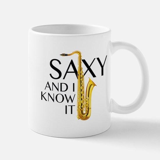 Saxy And I Know It Mug