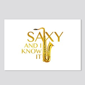 Saxy And I Know It Postcards (Package of 8)