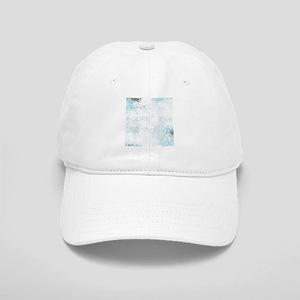 Blue grunge - sharp edge Cap