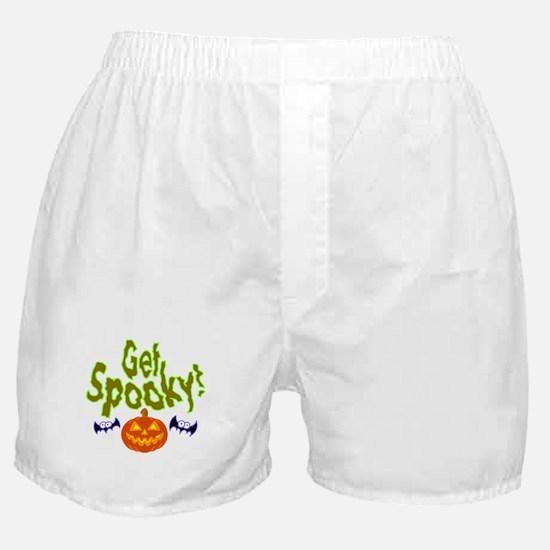 Halloween Get Spooky! Boxer Shorts