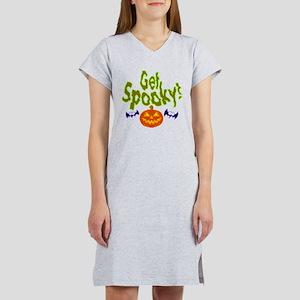 Halloween Get Spooky! Women's Nightshirt