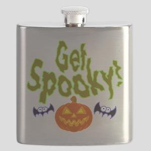 Halloween Get Spooky! Flask