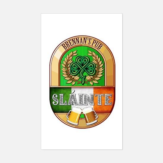 Brennan's Irish Pub Sticker (Rectangle)