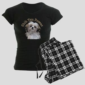 Shih Tzu Power Women's Dark Pajamas