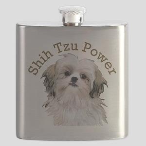 Shih Tzu Power Flask