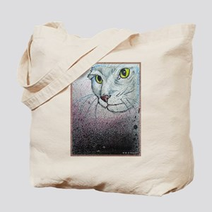 Cat, cat face, art Tote Bag