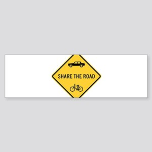 Share the Road Bumper Sticker