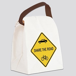 Share the Road Canvas Lunch Bag