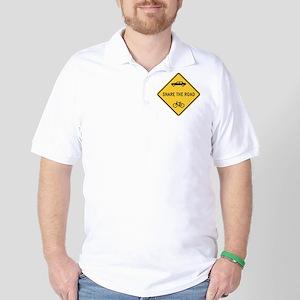 Share the Road Golf Shirt