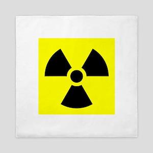 Radiation Warning Queen Duvet