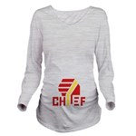 Chief Long Sleeve Maternity T-Shirt