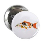 "Koi carp 2.25"" Button (10 pack)"