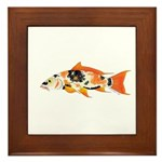 Koi carp Framed Tile