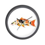 Koi carp Wall Clock