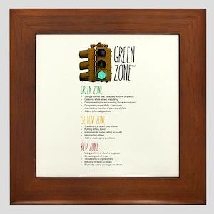 GreenZone Parent Program Framed Tile