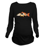 Koi Carp c Long Sleeve Maternity T-Shirt