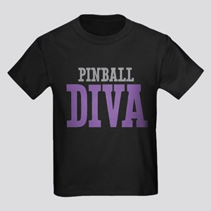 Pinball DIVA Kids Dark T-Shirt