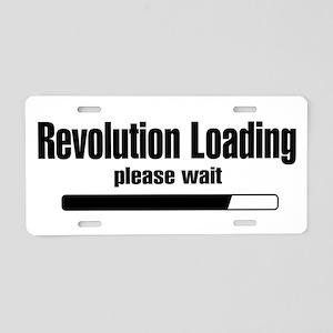 Revolution Loading... Aluminum License Plate