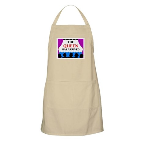 QUEEN HAS ARRIVED BBQ Apron