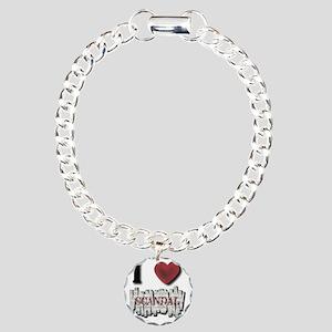 I Love Scandal Charm Bracelet, One Charm