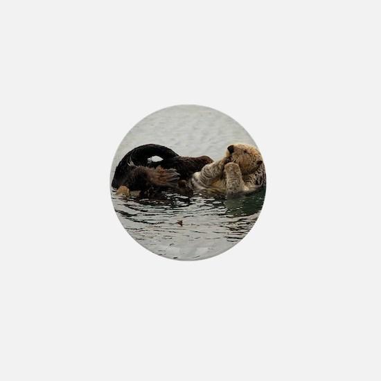 California Sea Otter Mini Button
