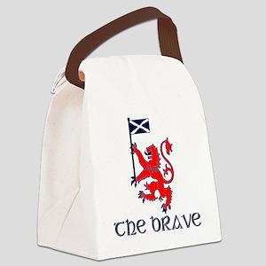 The brave Scottish lion Canvas Lunch Bag