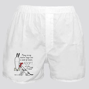 Life Long Friend (Dog) Boxer Shorts