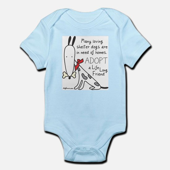 Life Long Friend (Dog) Infant Bodysuit