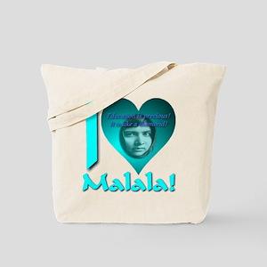 I (Heart) Malala Tote Bag