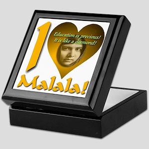 I (Heart) Malala Keepsake Box