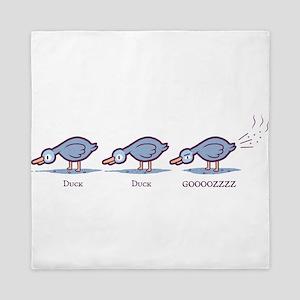 Duck Duck Gooz Queen Duvet