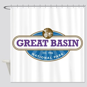 Great Basin National Park Shower Curtain