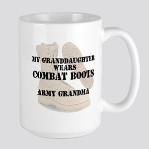 Army Grandma Granddaughter wears DCB Mugs