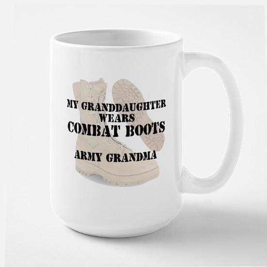 Army Grandma Granddaughter wears DCB Mugs