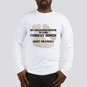 Army Grandma Granddaughter wears DCB Long Sleeve T