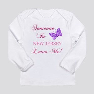 New Jersey State (Butterfly) Long Sleeve Infant T-