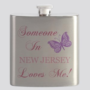 New Jersey State (Butterfly) Flask