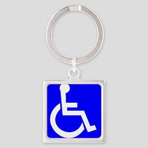 Handicap Sign Keychains