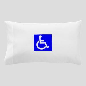 Handicap Sign Pillow Case