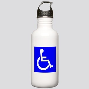 Handicap Sign Water Bottle