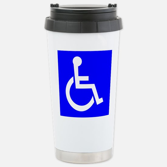 Handicap Sign Travel Mug